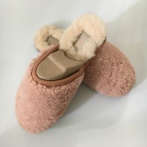 UGG Pearly Curly Cue Slippers in Suntan - 8 -